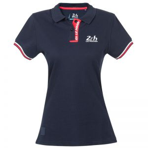 24h-Rennen Le Mans Damen Poloshirt Logo