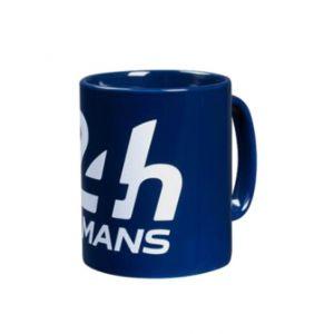 24h de course au Mans Tasse bleu