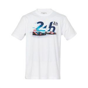 24h de course au Mans T-Shirt de l'événement 2021 blanc