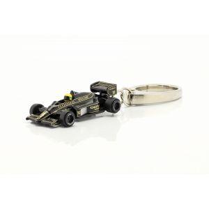 Ayrton Senna Keyring Miniature Lotus 97T Scale 1/87