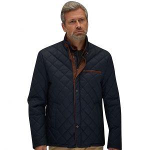 Gulf Sento Jacket washed navy blue