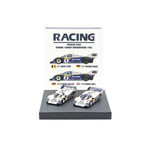 Porsche 956K #1 & #2 Doppio set 1000km Nürburgring 1983 1/43