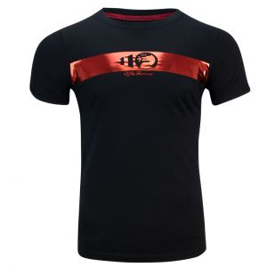 Alfa Romeo Lifestyle 110 Camiseta de Mujer Metallic negra