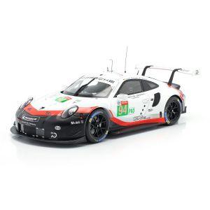 Porsche 911 (991) RSR #94 24h LeMans 2018 Dumas, Bernhard, Müller 1:18