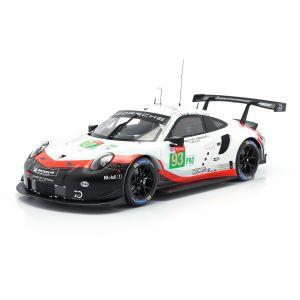 Porsche 911 (991) RSR #93 24h LeMans 2018 Pilet, Tandy, Bamber 1:18