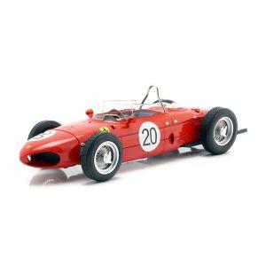 W. Graf Berghe v. Trips Ferrari 156 Sharknose #20 Frankreich GP F1 1961 1:18