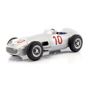 J.M. Fangio Mercedes-Benz W196 #10 Sieger Belgien GP Weltmeister Formel 1 1955 1:18