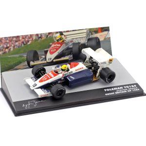 Ayrton Senna Toleman TG184 #19 3rd Großbritannien GP Formel 1 1984 1:43
