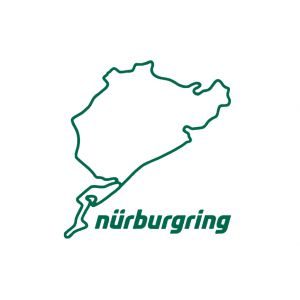 Nürburgring Sticker Nürburgring 8cm vert