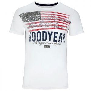 Goodyear Camiseta Bluffton blanco