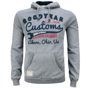 Goodyear Felpa con cappuccio Oregon grigio