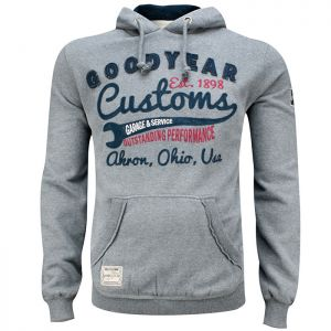 Goodyear Pull à capuche Oregon gris