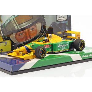 Michael Schumacher Benetton B193 #5 Italien GP Formel 1 1993 1:43
