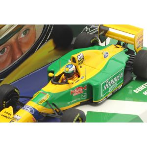 Michael Schumacher Benetton B193 #5 Italia GP Fórmula 1 1993 1/43