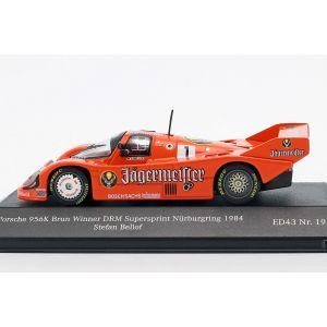 Porsche 956K #1 Gagnant DRM Supersprint Nürburgring 1984 Stefan Bellof 1/43