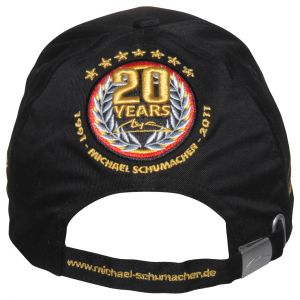 """Michael Schumacher Anniversary Cap """"20 Years"""""""