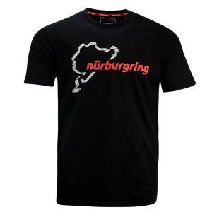Nürburgring Maglietta Nürburgring nero