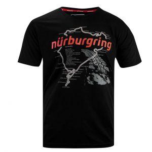 Nürburgring Maglietta Nordschleife nero