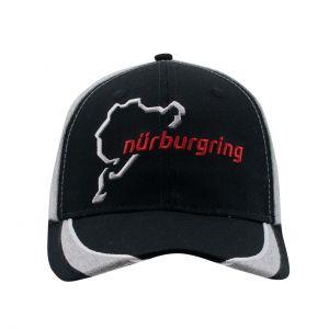 Nürburgring Cap Nordschleife schwarz / grau