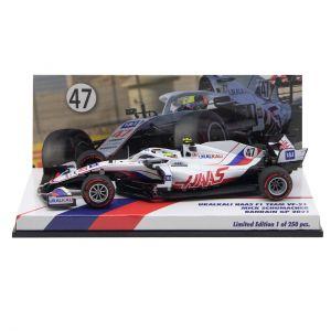 Mick Schumacher Uralkali Haas F1 Team VF-21 Formula 1 Bahrain GP 2021 Edizione limitata 1/43