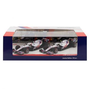 Uralkali Haas F1 Team 2021 Schumacher / Mazepin double set Limited Edition 1/43