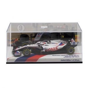 Nikita Mazepin  Uralkali Haas F1 Team VF-21 Fórmula 1 GP de Bahrein 2021 1/43