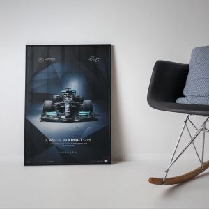 Affiche Mercedes-AMG Petronas F1 Team -  Lewis Hamilton - 2021