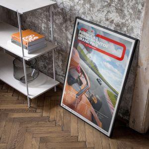 Affiche Formule 1 - Grand Prix des Pays-Bas 2021 - Edition limitée