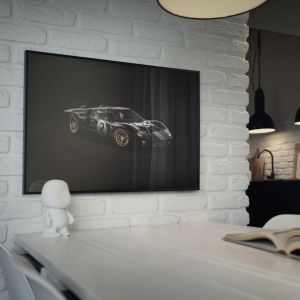 Cartel Ford GT40 - Negro - 24h Le Mans - 1966 - Colors of Speed