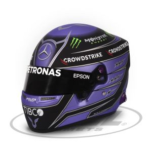 Lewis Hamilton casco in miniatura 2021 1/2