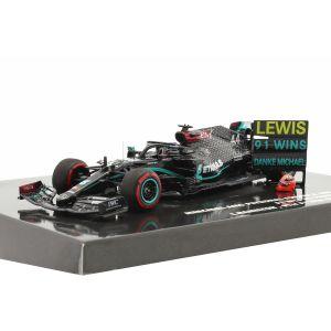 Mercedes-AMG Petronas F1 Team W11 EQ Performance - Lewis Hamilton - Ganador del GP de Eifel 2020 1/43