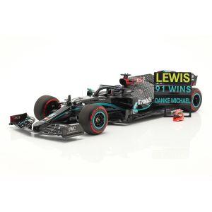 Mercedes-AMG Petronas F1 Team W11 EQ Performance - Lewis Hamilton - Vainqueur Eifel GP 2020 1/18