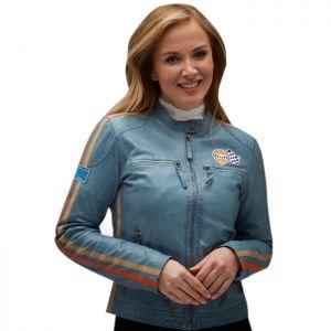 Gulf Lady Racing Jacke Ice blue
