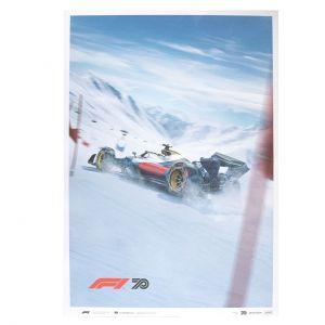 Affiche Formule 1 - Winter Edition