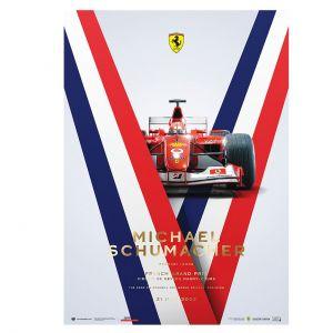 Castel Michael Schumacher - Ferrari F2002 - GP de Francia 2002