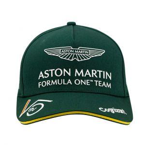 Aston Martin F1 Official Sebastian Vettel Gorra verde