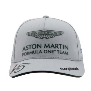 Aston Martin F1 Official Sebastian Vettel Cap grau