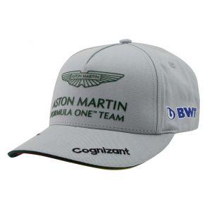 Aston Martin F1 Official Sebastian Vettel Gorra gris