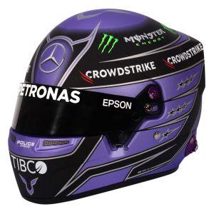 Lewis Hamilton Casco en miniatura 2021 1/2
