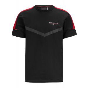 Porsche Motorsport T-Shirt schwarz/rot