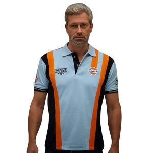 Gulf Racing Pro Polo azul gulf