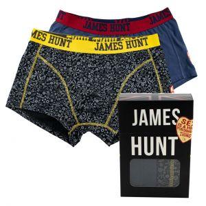James Hunt Boxershorts Seventies + 76 Doppelpack