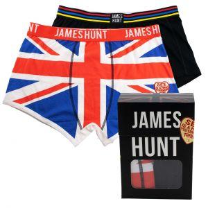 James Hunt Calzoncillos Hemet + Union Jack Paquete doble