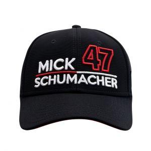 Mick Schumacher Casquette 47 noir