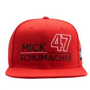 Mick Schumacher Cap 47 red