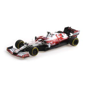 Kimi Räikkönen Alfa Romeo Racing ORLEN C41 Formula 1 Bahrain GP 2021 1/43