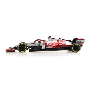Kimi Räikkönen Alfa Romeo Racing ORLEN C41 Formel 1 Bahrain GP 2021 1:43