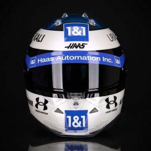 Mick Schumacher Replika Helm Spa 2021 1:1
