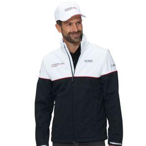 Porsche Motorsport Softshell Jacket black/white