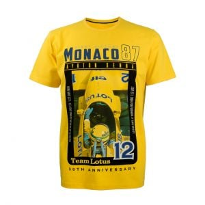 Ayrton Senna, camiseta Niños, Mónaco, Lotus 99T